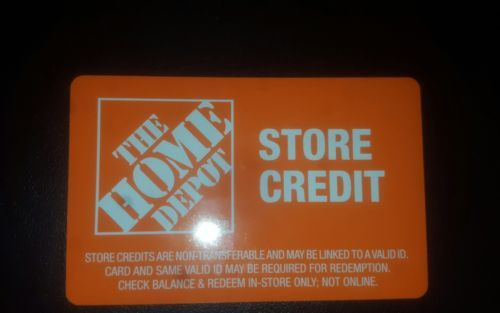 Coupons Giftcards Home Depot Gift Card Merchandise Return Card 233 03 Coupons Giftcards Gift Coupons Check And Balance Cards