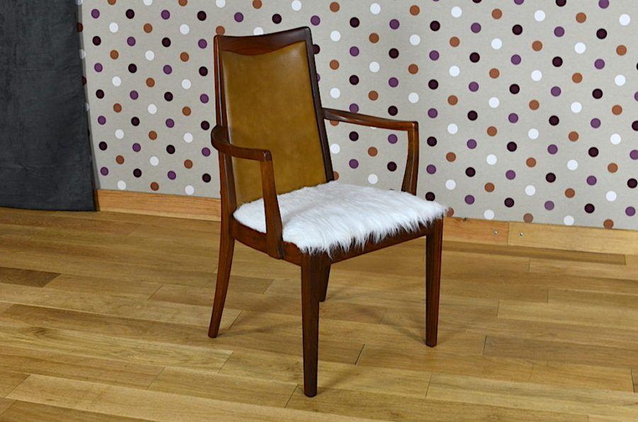 Fauteuil de bureau scandinave g plan vintage chaises