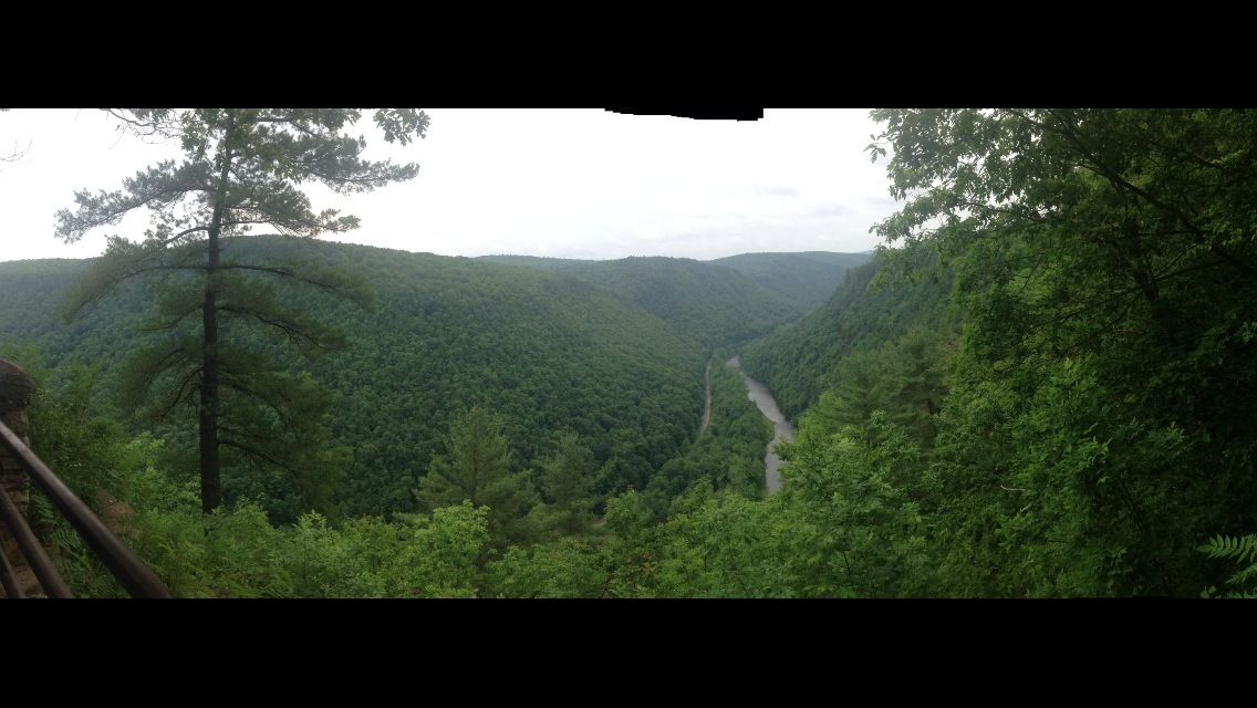 Pine creek valley aka Pennsylvania Grand Canyon   Country ...