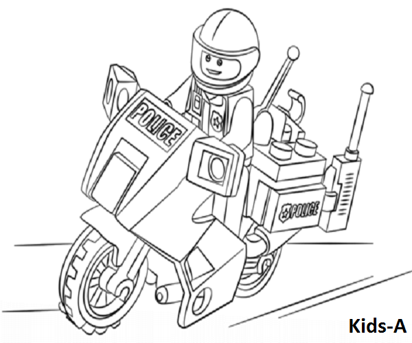 Lego City 2 Lego Coloring Coloringpagesforkids Kinder