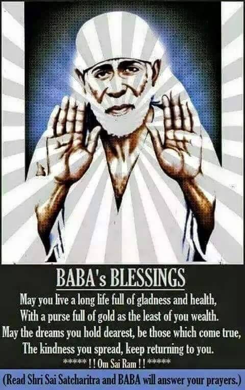 LOVE YOU BABA       The Saint of Shirdi - Sai Baba of Shirdi   Sai
