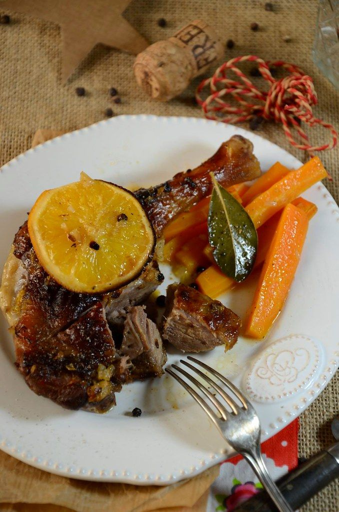 Photo of Duck leg with orange and cider – Recipe – Tangerin …