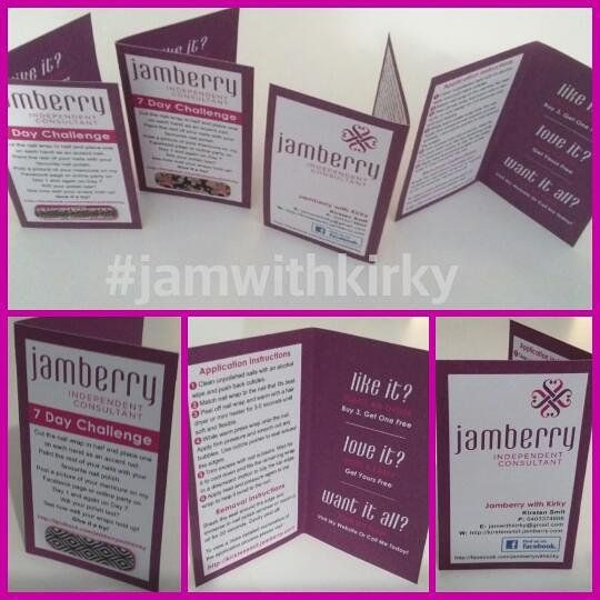 Your sample cards are on the way! Contact me if you would like to - sample cards