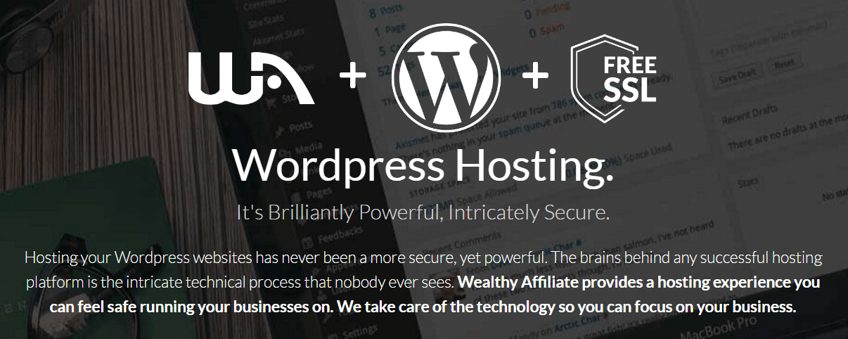 Wealthy Affiliate Has The Best Hosting Service In The World Https