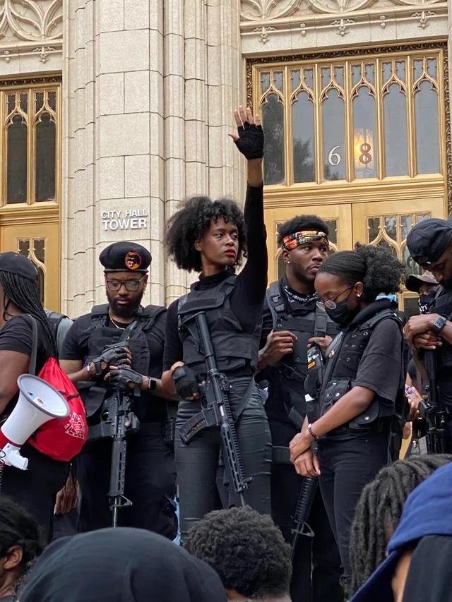 Black Panthers in Atlanta