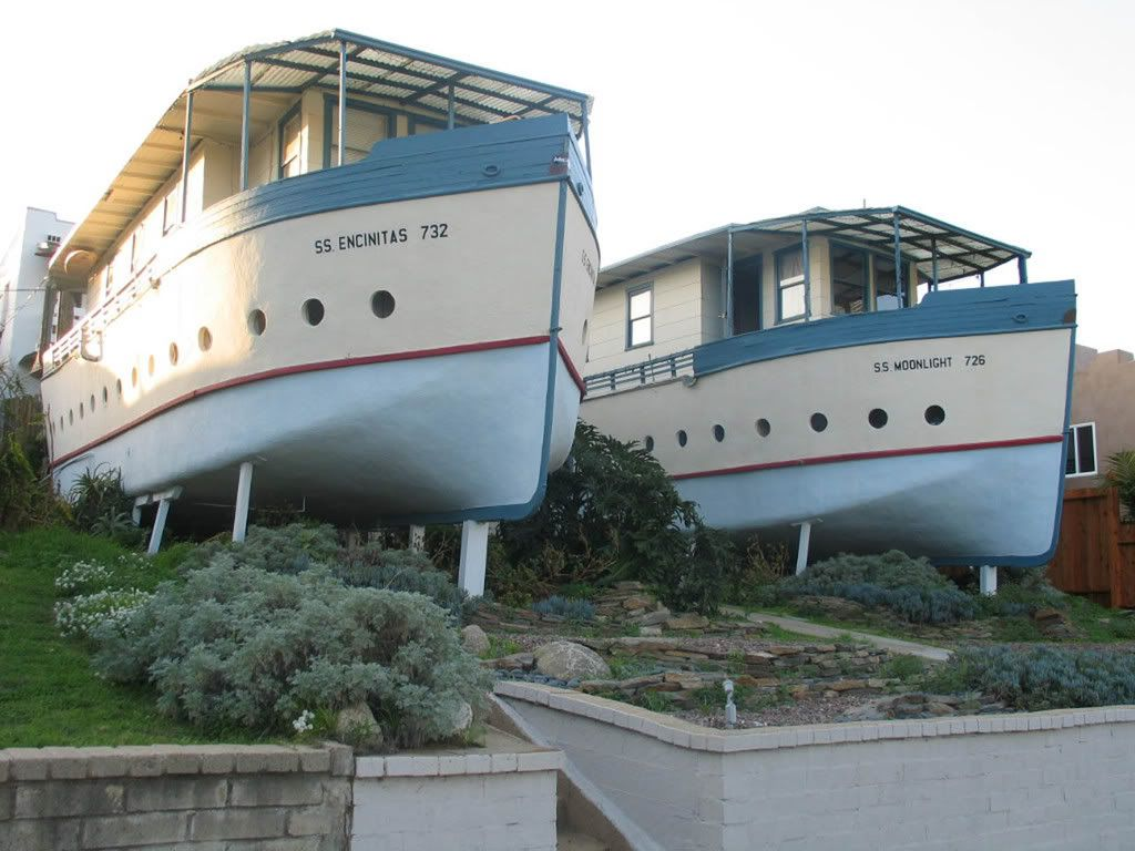 Benson Ford House Unusual Houseboats Strange Weird Unique Houses Structures Pics