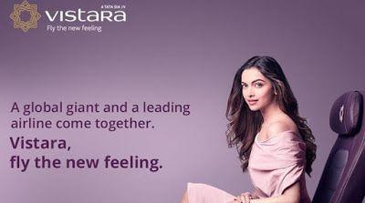Deepika Padukone named brand ambassador of Vistara ...