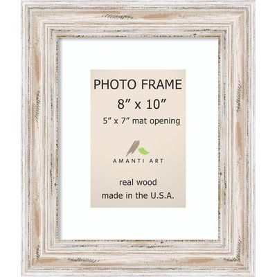 Beachcrest Home Marion Picture Frame Color White Wash Picture
