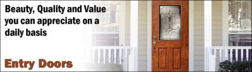 Update The Look Of Your Home With A New Entry Door From