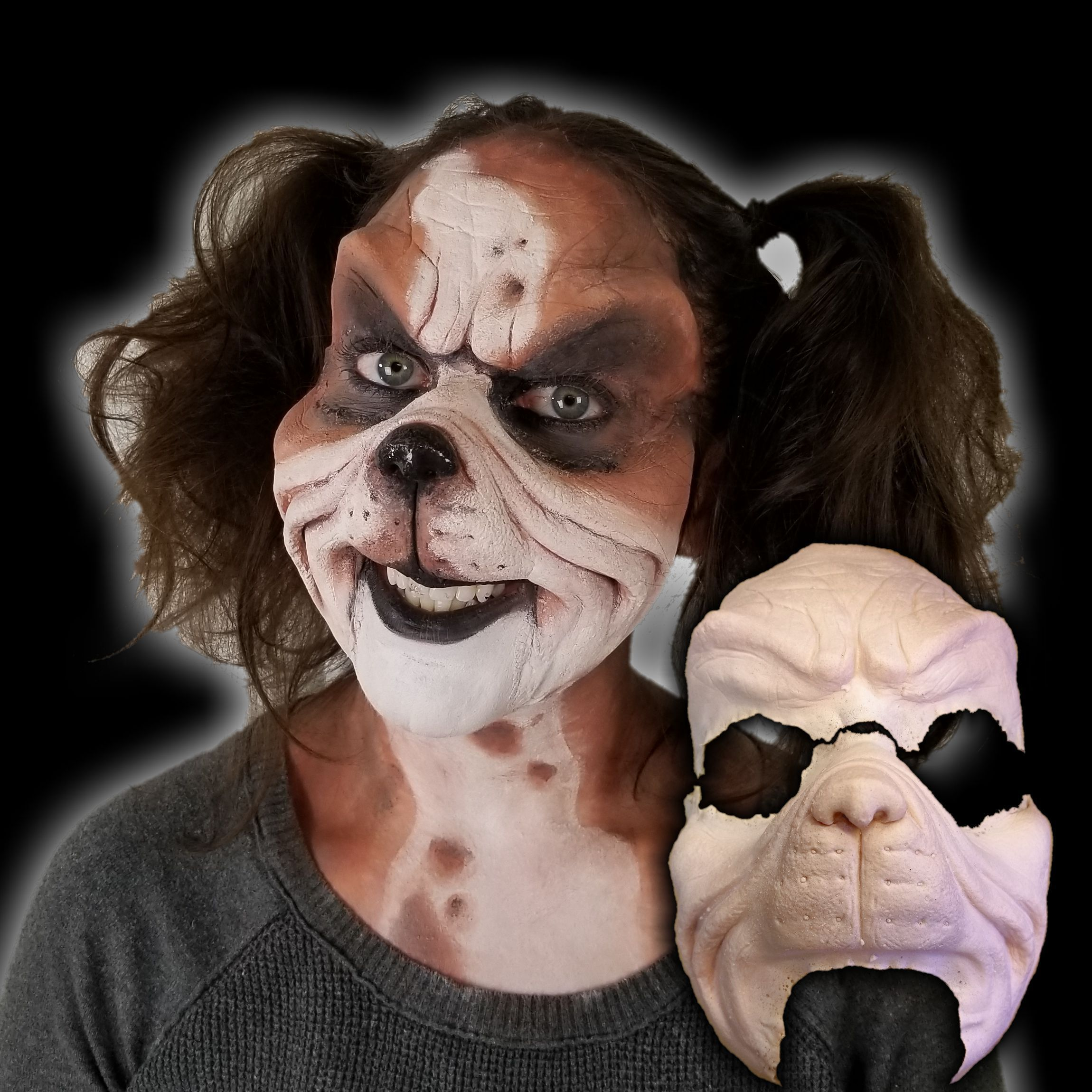 Grrrouch Makeup Appliance (With images) Dog makeup
