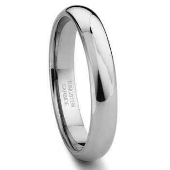 Geeky wedding ring is geekalicious!  Tungsten Carbide with nickel binder.