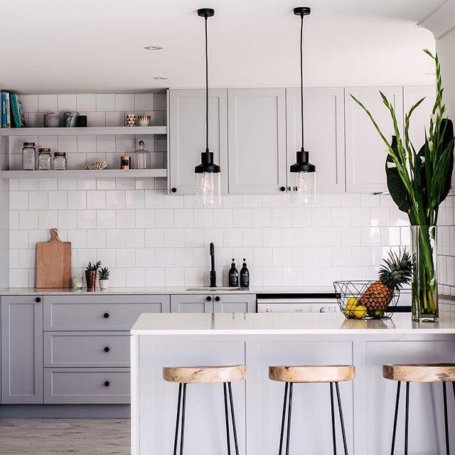 Soft gray kitchen                                                                                                                                                                                 More