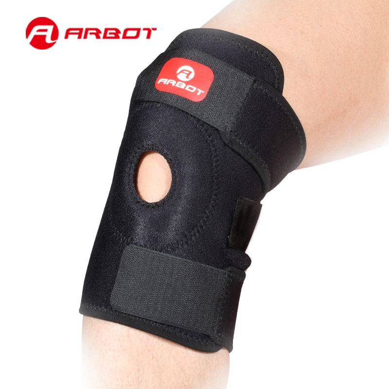 Knee Brace Basketball Support Sport Outdoor Support Cycling Knee Protector Mountain Bike Sports Safety Kneepad Braces Sports Safety Sport Bikes Outdoor Sports