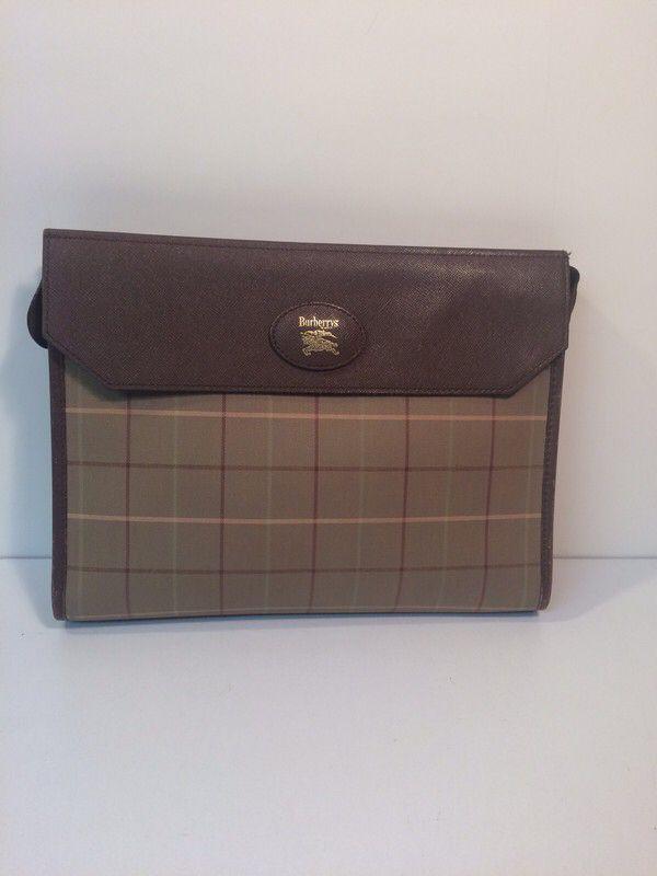 d1e02268f9b4 My Burberry Vintage Logo Envelope Clutch Handbag by Burberry! Size for  $$275.00. Check