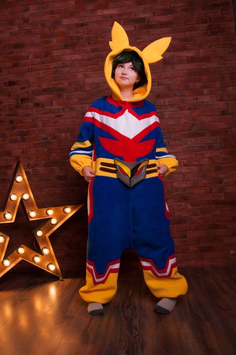 Custom My Hero kigurumi adult onesie, pajama