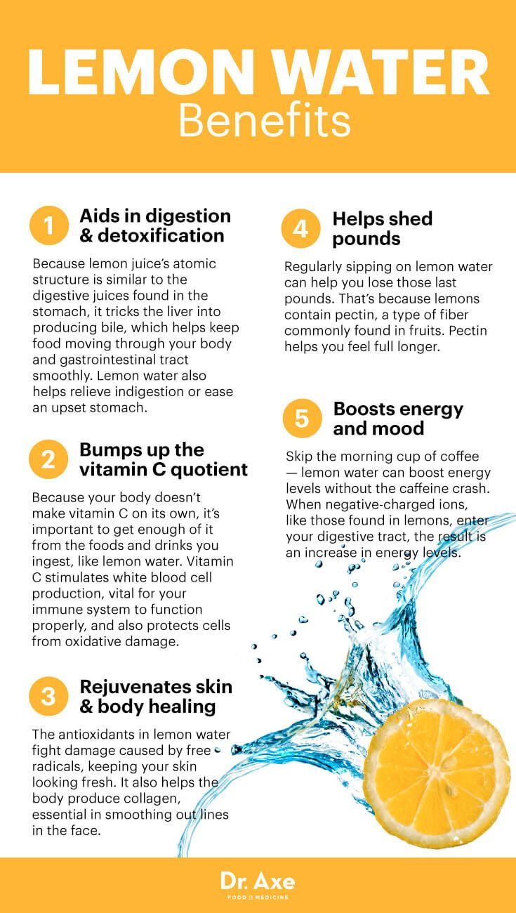 The Detoxifying Skin Booster Beverage You Should Drink Lemon Water Benefits Lemon Benefits Water Benefits