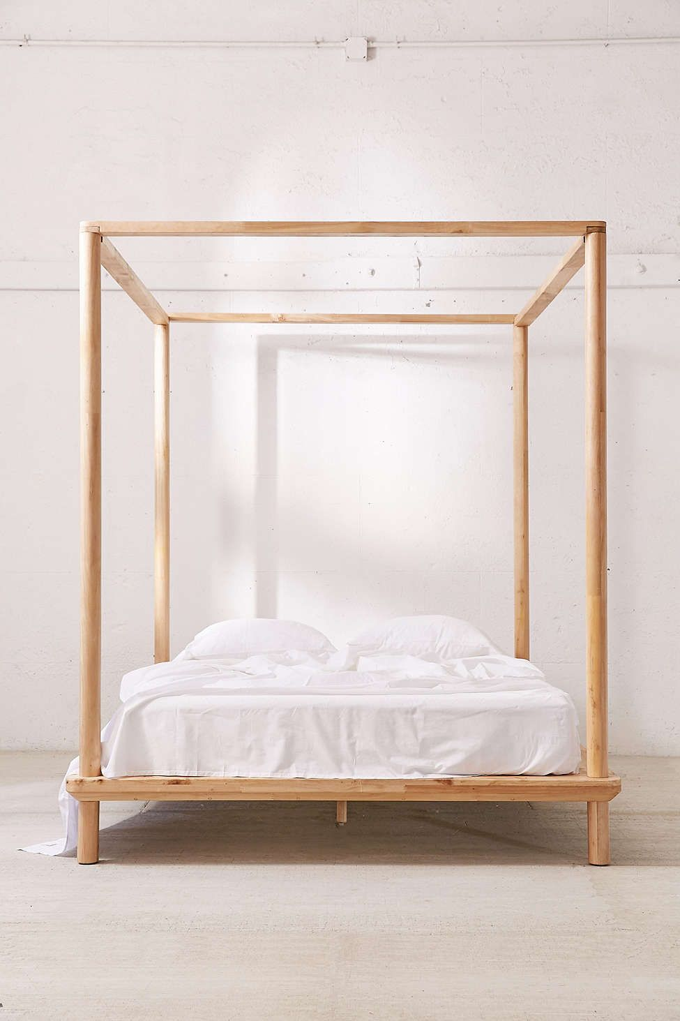 - Eva Wooden Canopy Bed Canopy Bed Frame, Canopy Bedroom, Canopy