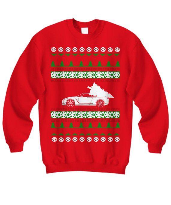 Nissan Gtr R35 Skyline Ugly Christmas Sweater Shirt Gift Jdm Race