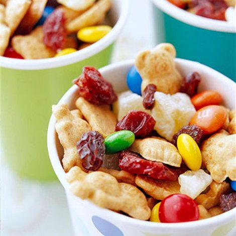 Bear-Y Good Snack Mix Recipe   Food Recipes - Yahoo! Shine