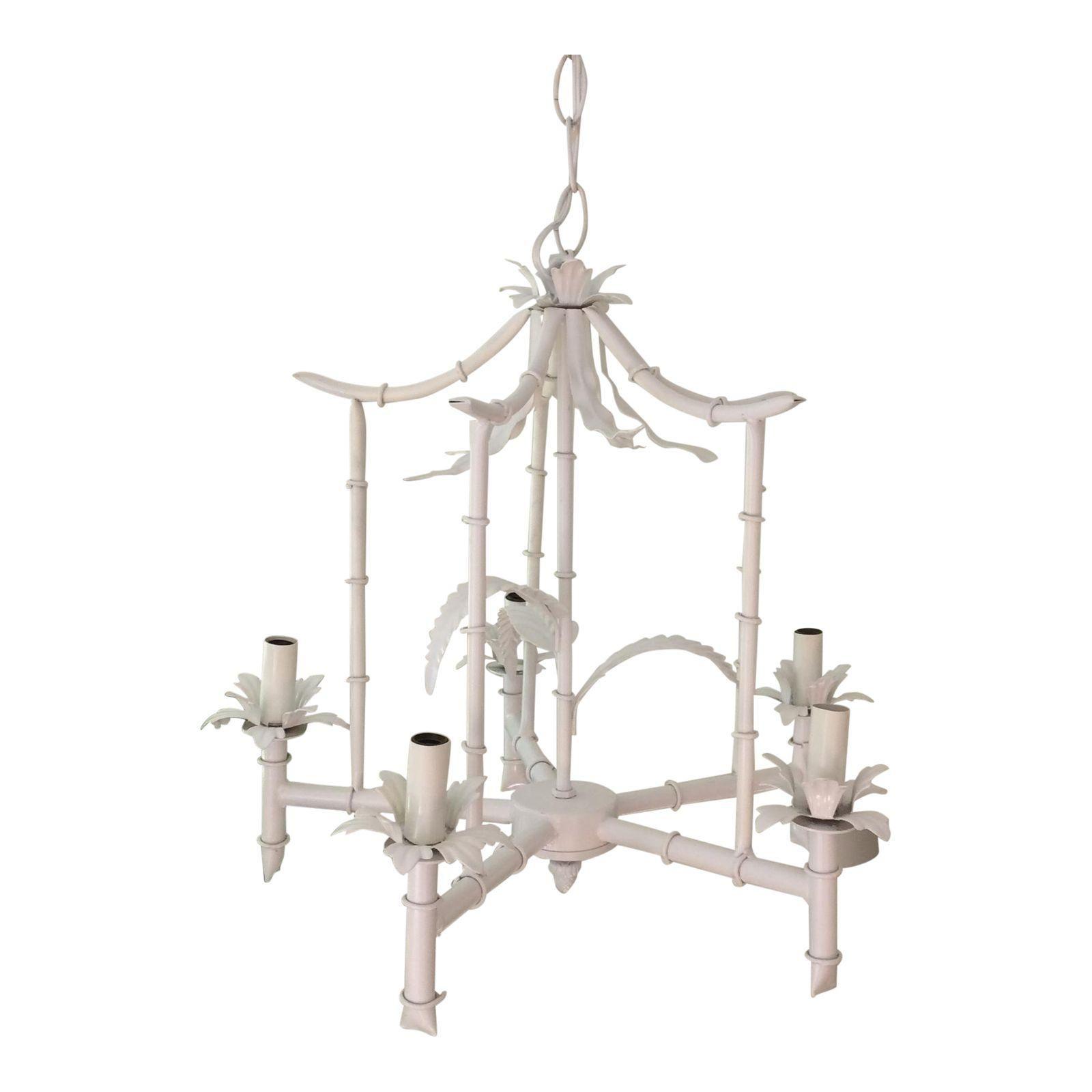 products regency bamboo chandelier beach faux palm monkey pagoda