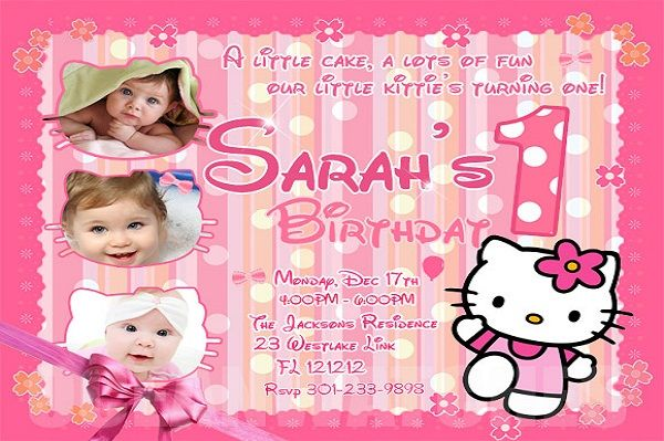 1st Birthday Invitations Messages Greetings And Wishes