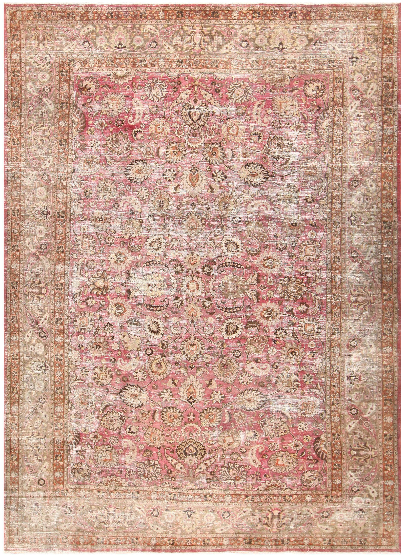 Tapis Shabby Chic Antique Shabby Chic Persian Khorassan Carpet In 2018 Decor