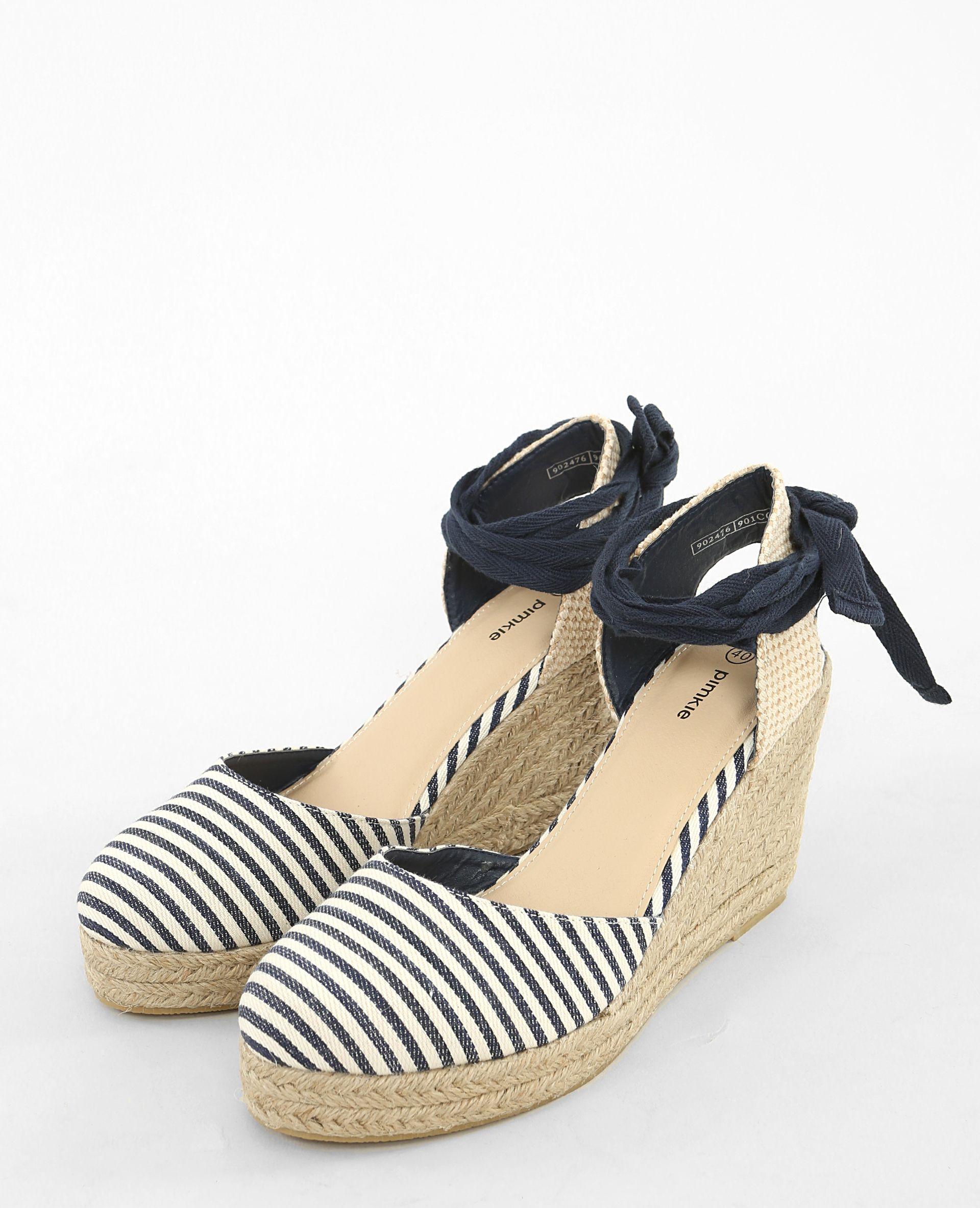 scarpe sportive 53304 31026 Espadrillas con zeppa | Moda Estate nel 2019 | Espadrillas ...