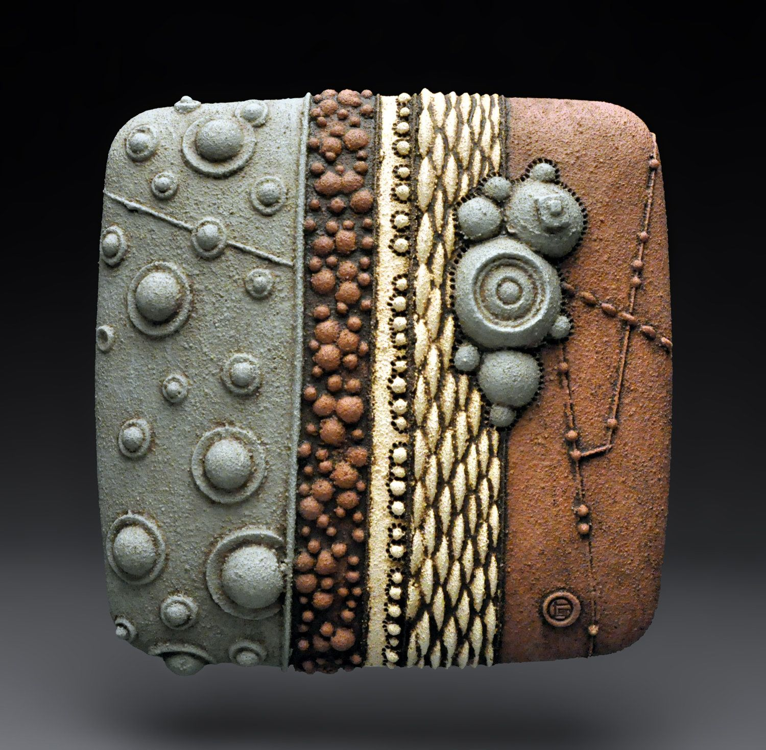 Rudimentary: Christopher Gryder: Ceramic Wall Art   Artful Home