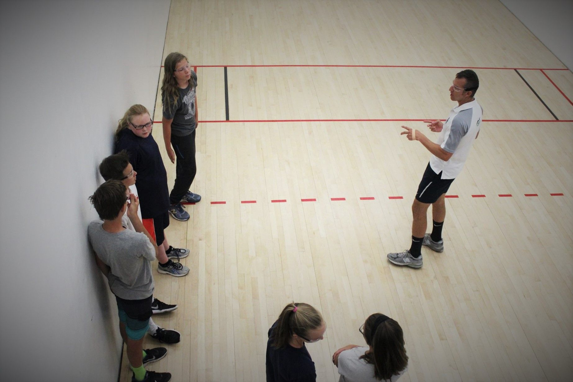 JR WPH at the Tucson Racquet Club All Sports Camp Sports