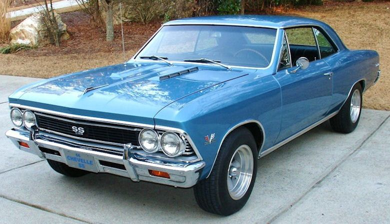 1966 Chevelle Ss396 Marina Blue Chevrolet Chevelle Chevy Muscle Cars Classic Cars Muscle