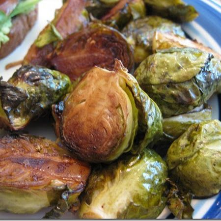 Balsamic Roasted Brussel Sprouts - Ina Garten