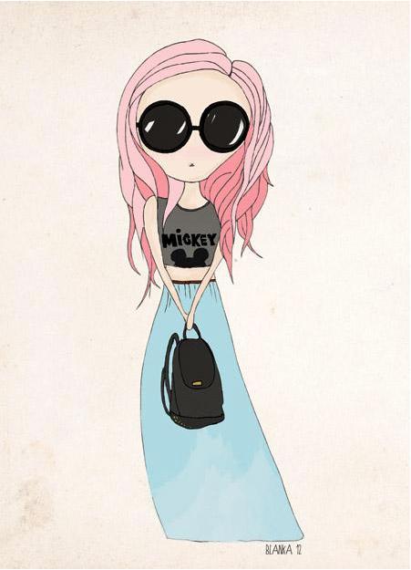 Blanka Biernat fashion illustration