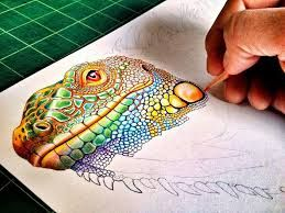 Dise O Grafico Colorful Drawings Colored Pencil Artwork Color Pencil Drawing