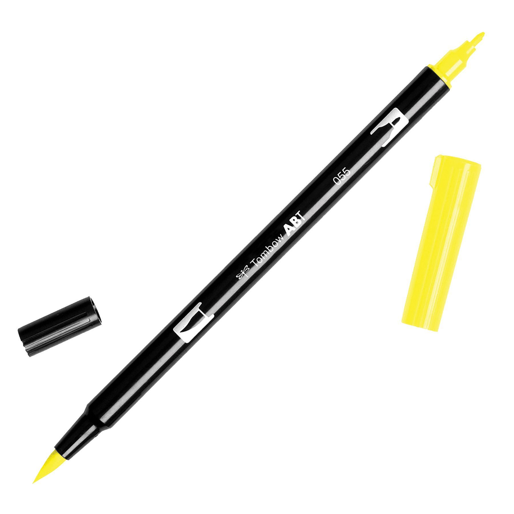 Tombow Dual Brush Marker Open Stock-055 Process Yellow