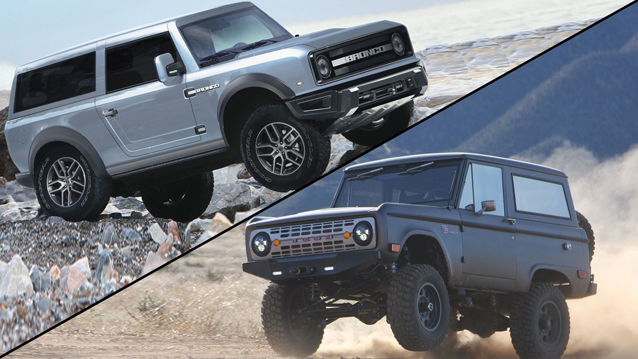 2021 Ford Bronco And Bronco Sport Will Offer Three Grille Designs In 2020 Ford F250 Diesel Ford Bronco F250 Diesel