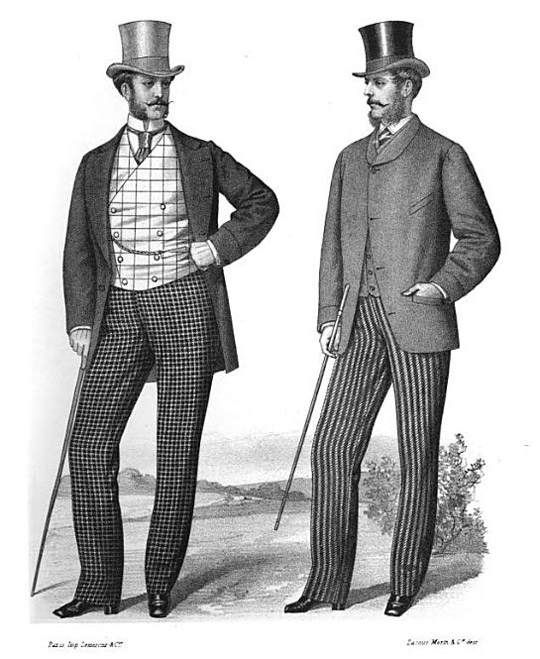 Popular Men S Fashions Of The Victorian Age Victorian Fashions