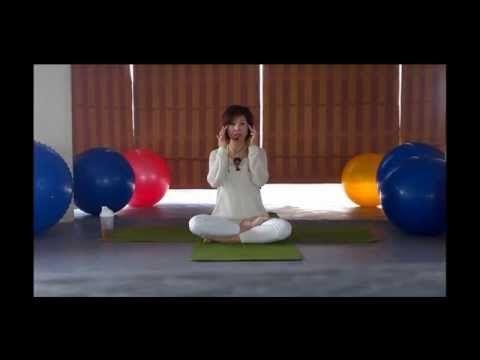 [Yoga trị liệu] Bài tập cho đôi mắt sáng đẹp, giảm mỡ mắt và nếp nhăn. - YouTube