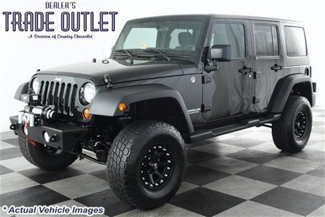 2012 Jeep Wrangler 4x4 Unlimited 4 Inch Lift 33 Inch Tires Xd Rims