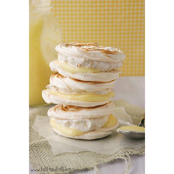 Lemon Meringue Hand Pies...not even sure if I like lemon meringue, but these look delicious!