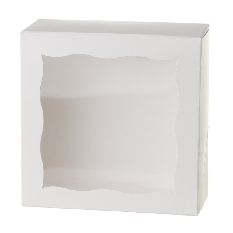 Bakery & Cupcake Boxes with Scalloped Window | Creative Bag