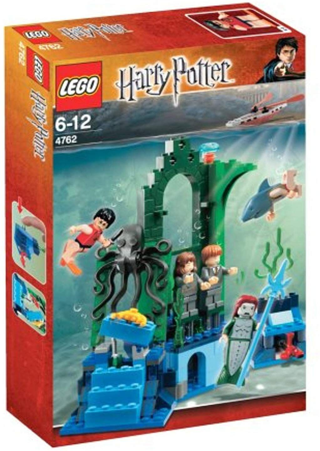 Lego Rescue 4762 Harry Potter Underwater People From Marple Lego Harry Potter Lego Hogwarts Harry Potter Toys