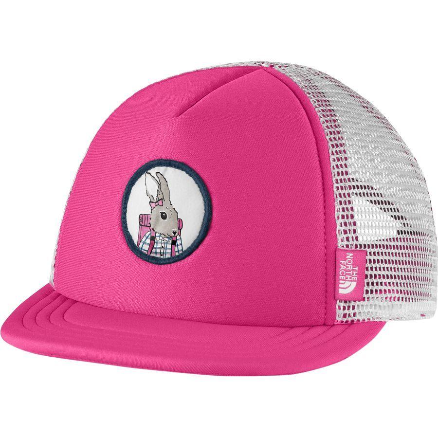 5c4737035e3e0 The North Face - Mini Trucker Hat - Infants  - Petticoat Pink