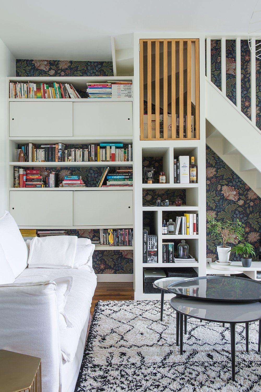 rangement sous escalier | Architecte interieur, Décor de bureau à domicile, Sallon salle a manger