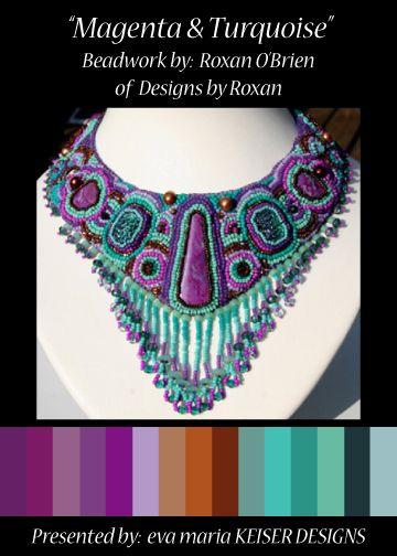 Colorway:  Roxan O'Brien  WEBSITE:  http://www.designsbyroxan.com/