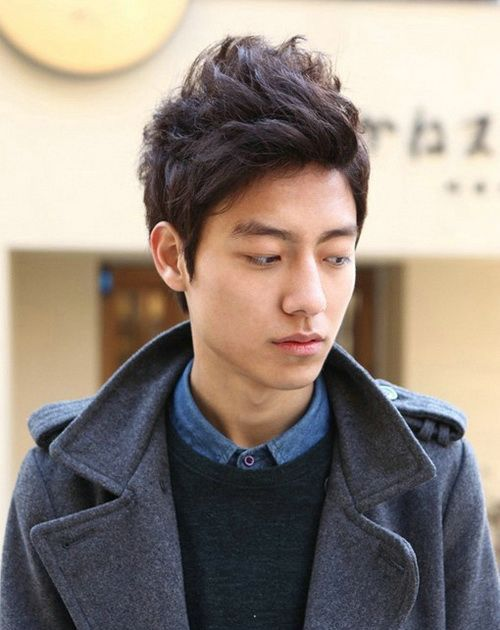 Easy Wavy Hairstyles Asian Men Asian Men Hairstyle Asian Hair Korean Hairstyle