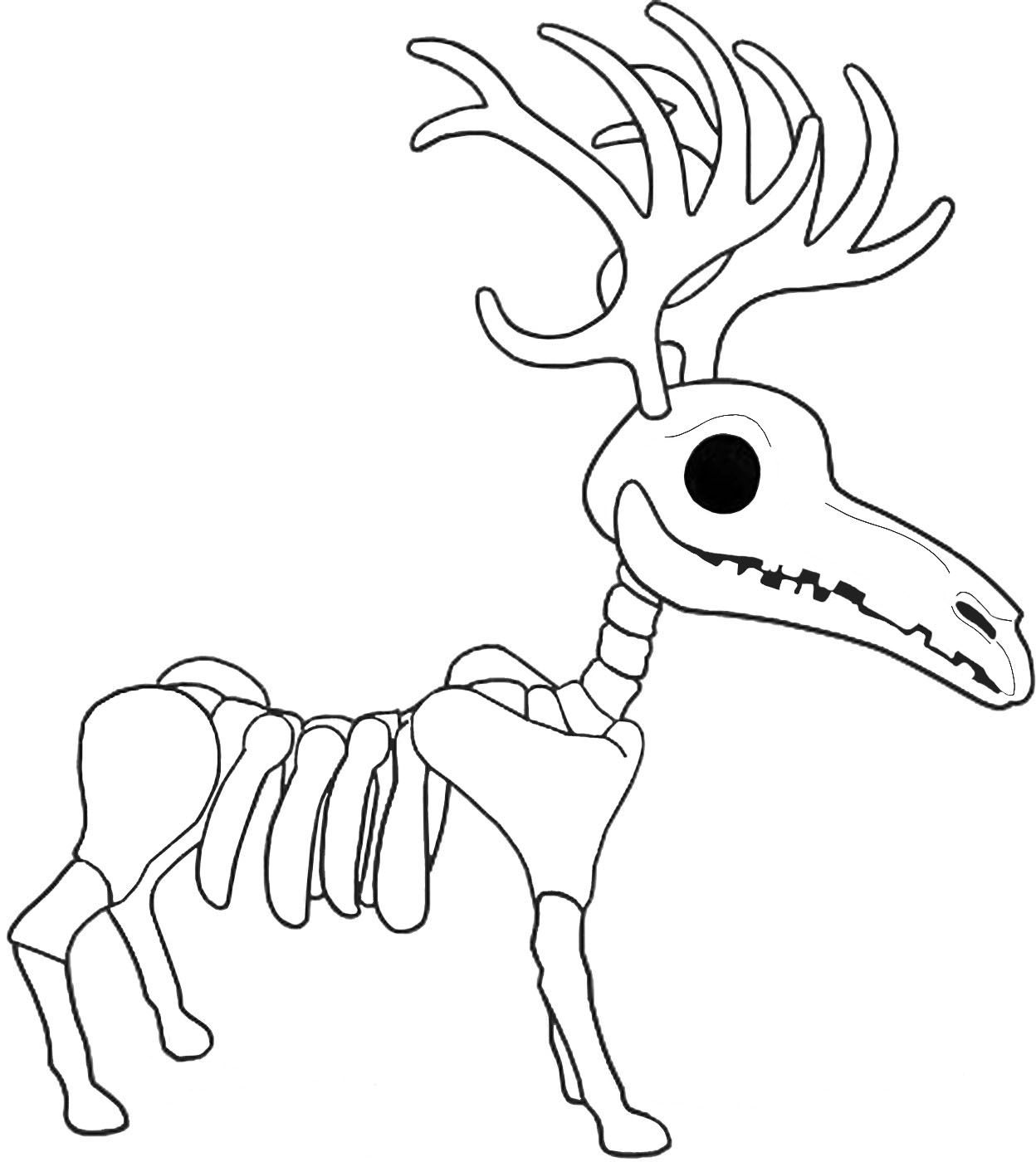 Jacks Skeleton Reindeer In