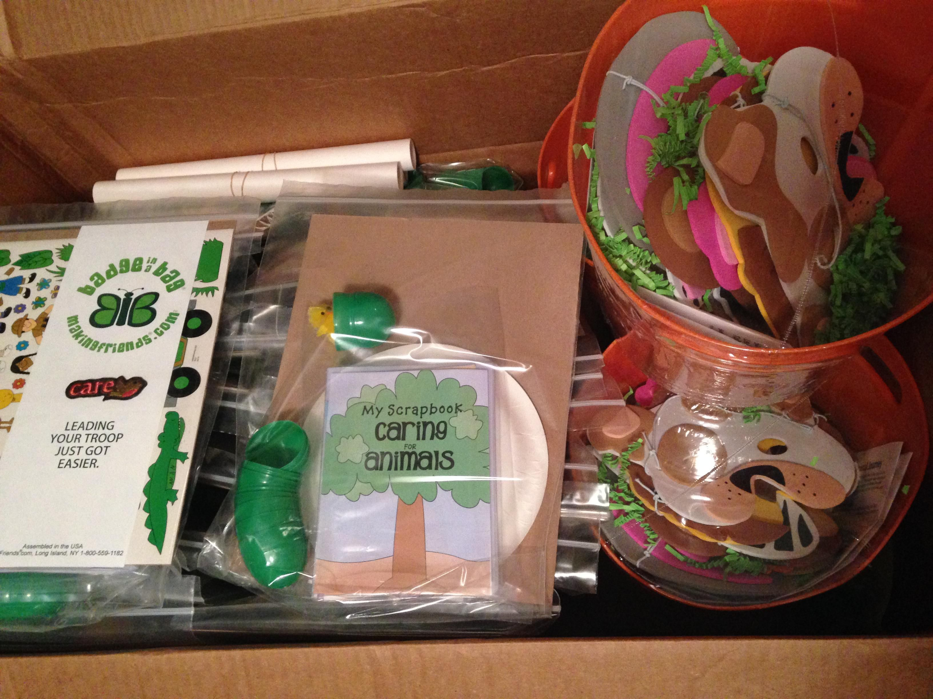 3 cheers for animals journey in-a-day | daisy gs ideas | girl scout