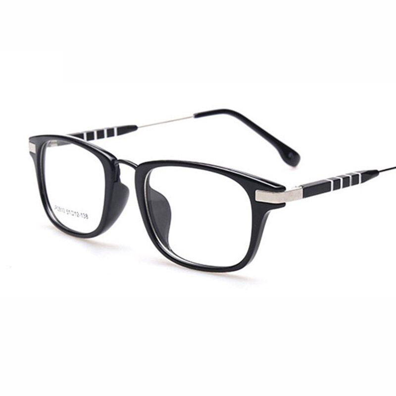 2017 New Retro Plain Mirror Eyeglasses Frames Men Women Eye Glasses Frame  Optical Myopia Eyewear Frame oculos de grau 621be78f257f
