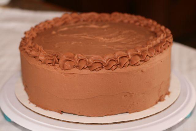 Ina Garten S Chocolate Cake With Swiss Meringue