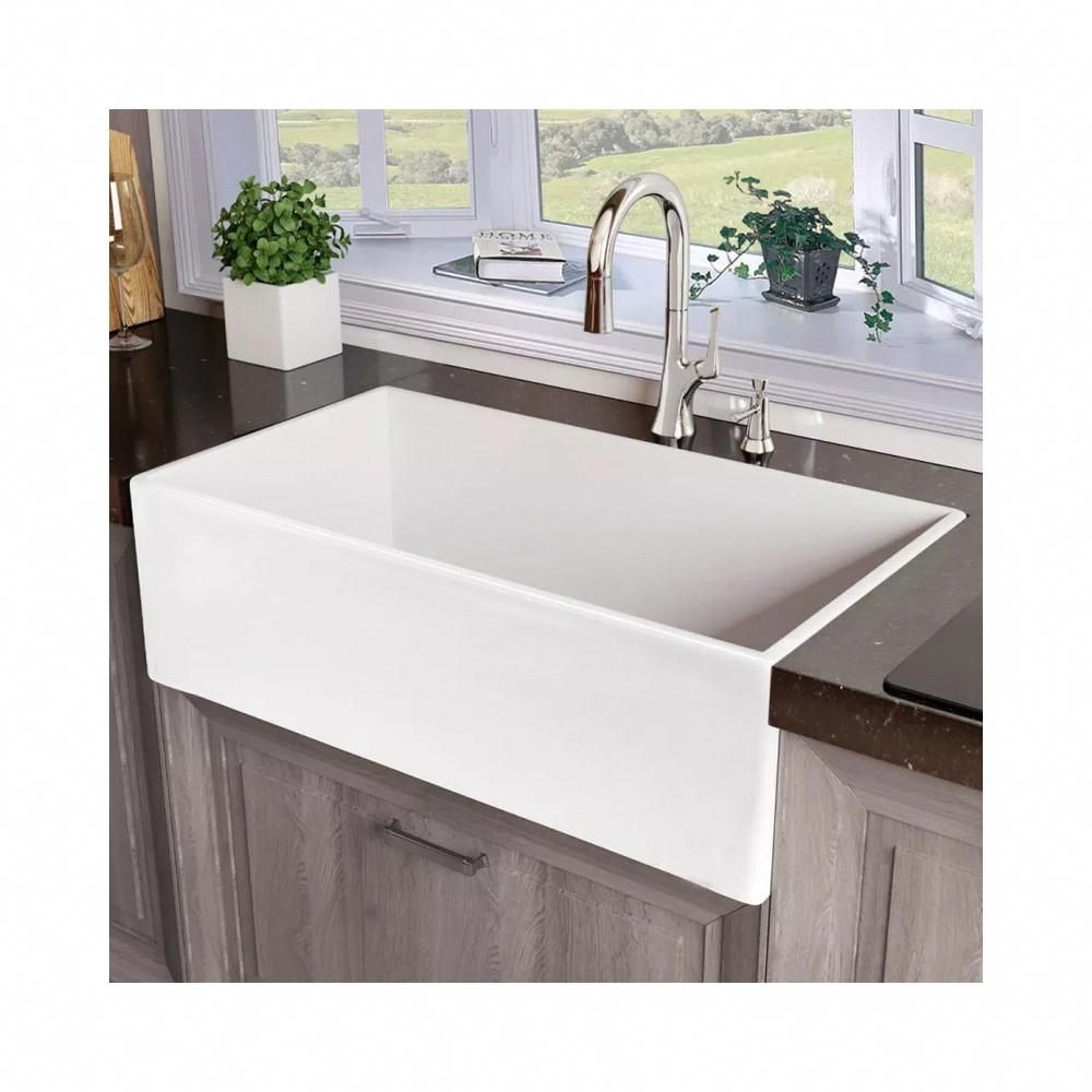 76 Contemporary Kitchen Pantry Pictures With Images Kohler Farmhouse Sink Farmhouse Sink Kitchen White Modern Kitchen